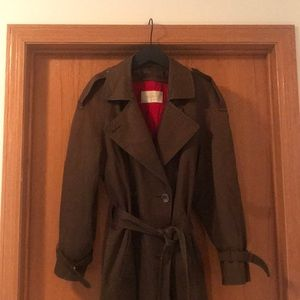 Vintage Jones New York Trench Coat